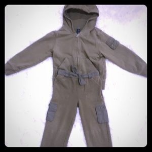 EUC Gap Cargo Sweat Outfit